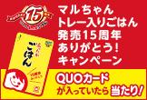 マルちゃんトレー入りごはん発売15周年ありがとう!キャンペーン