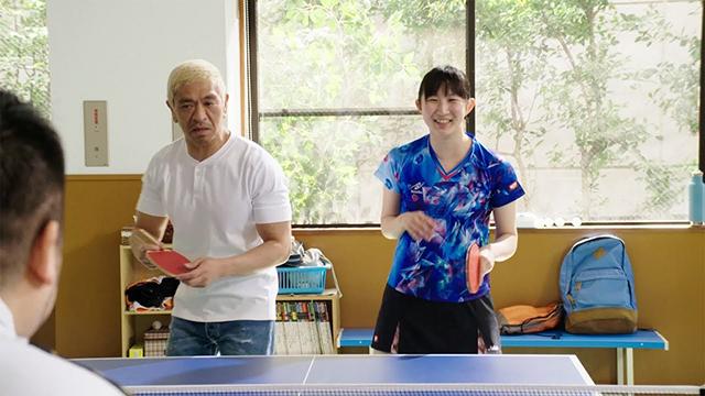 MARUCHAN QTTA「卓球・ひなまつペア篇」