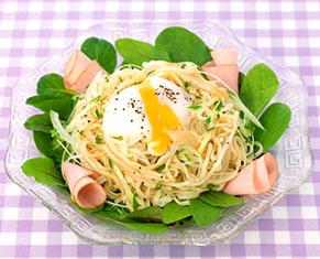 マルちゃん正麺冷し中華 グリーンサラダ仕立て