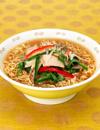 ニラたっぷり サンマー麺風