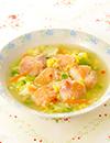 鶏肉の中華野菜スープ煮込み