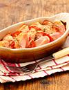 魚肉ソーセージのチーズ&ペッパー焼き