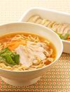 マルちゃん正麺 味噌味 鶏肉とピーマンのバター蒸しのせ