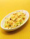焼きワンタンとキャベツのカレーサラダ